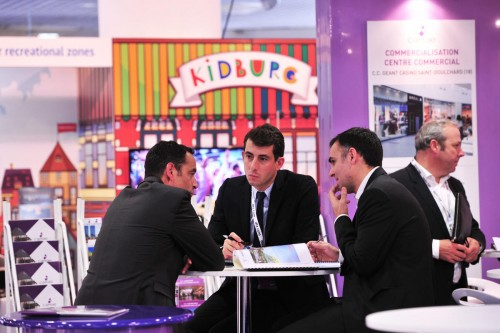 MAPIC 2014 - ATMOSPHERE - EXHIBITION AREA - VISITORS - STAND
