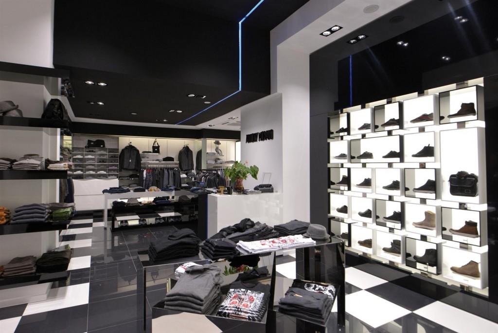 Antony Morato inside store
