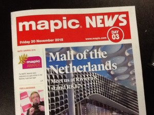 MAPIC 2015 Daily News