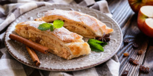Traditional Apple strudel © NoirChocolate/GettyImages recipes