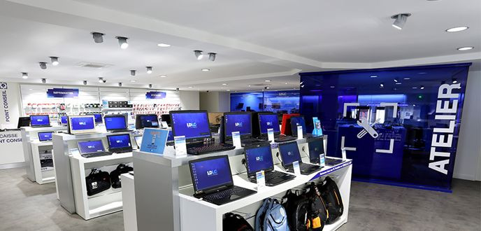 LDLC showroom retail store