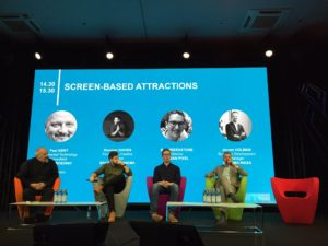 Screen-based attractions MAPIC 2019 Leisure Day
