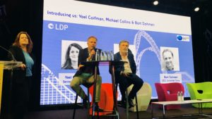 Yael Coifman and Michael Collins, LDP Economics and Bart Dohmen, Unlimited Snow - '360 Multidisciplinary approach' learning session MAPIC 2019 Leisure Day