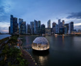 Floating Apple retail store opens in Singapore