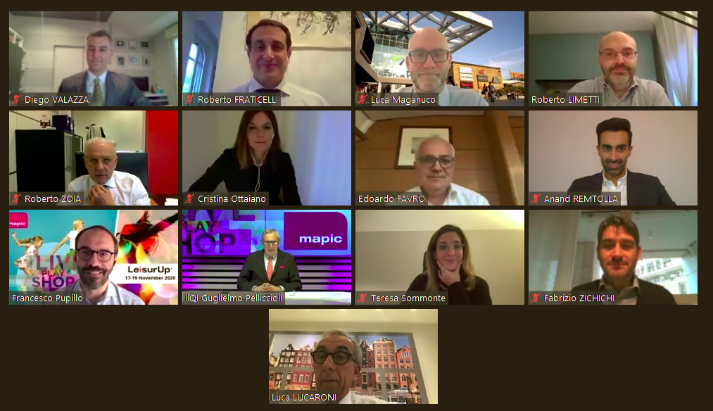 Italy forum MAPIC & LeisurUp Digital Session_Italy Forum